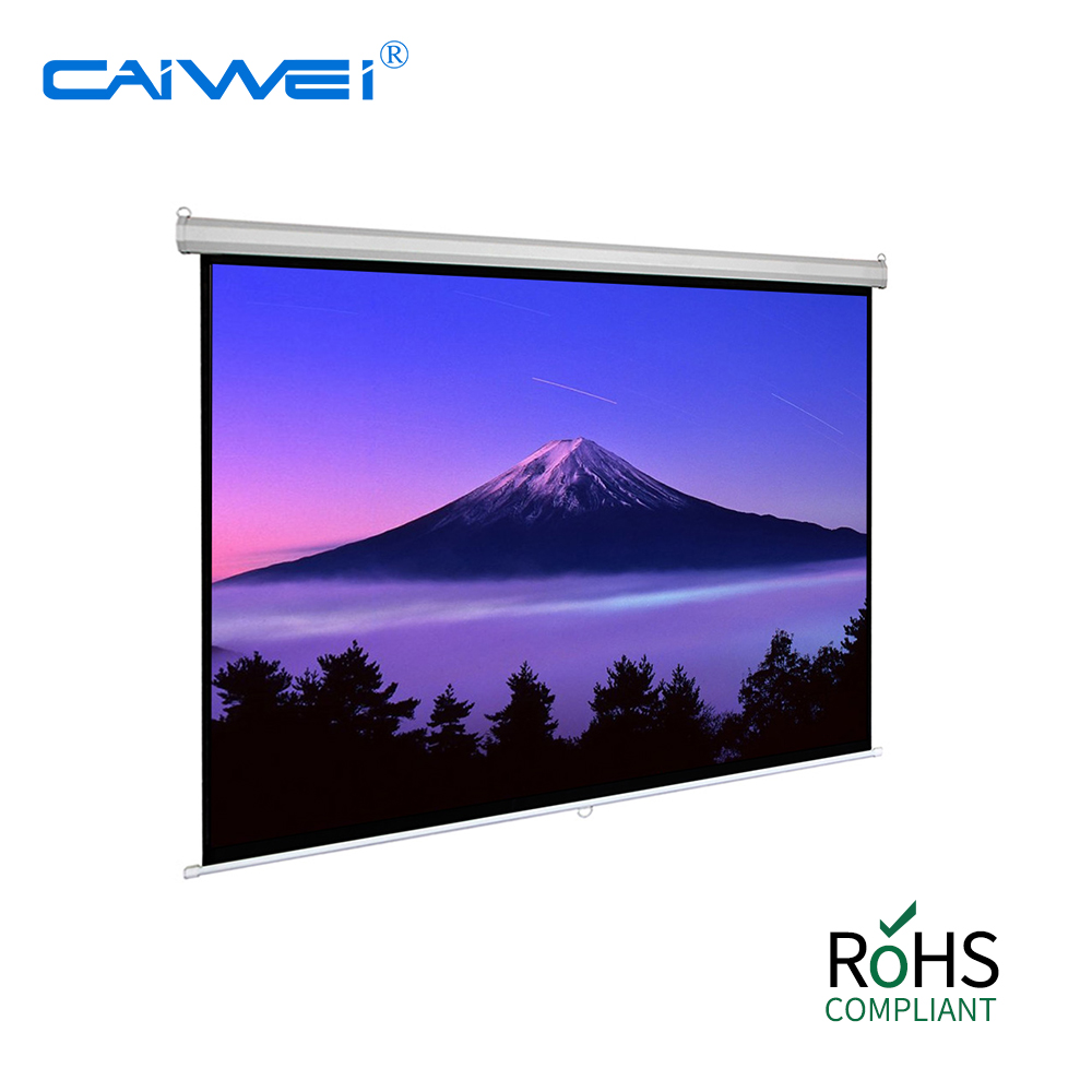Electric projector screen for 1080P movie projector screen