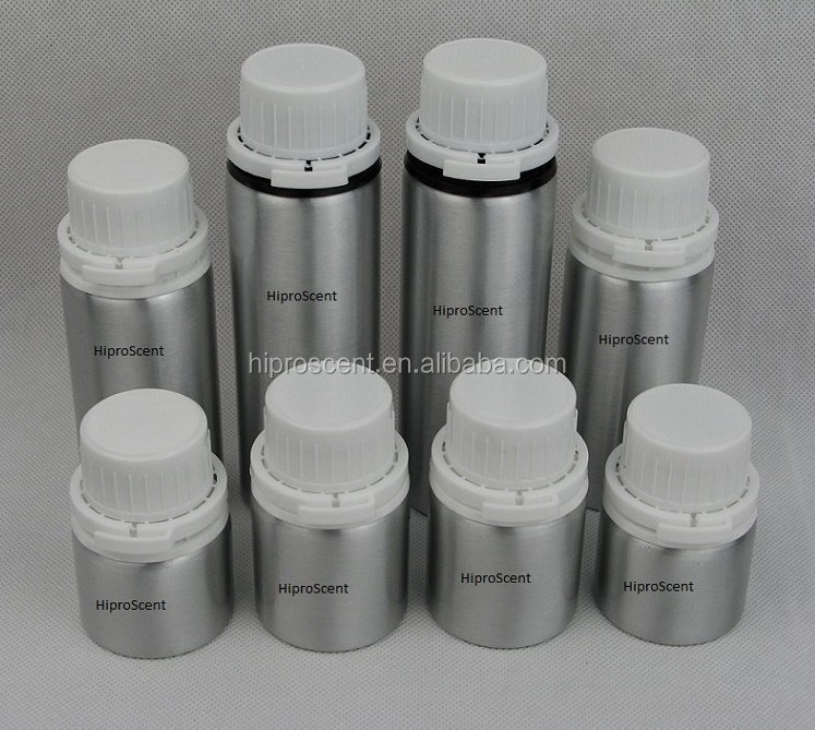 ROHS 30ml 50ml 100ml, 500ml, 1000ml, 1250ml and 5000ml empty polished aluminum perfume bottle manufacturer