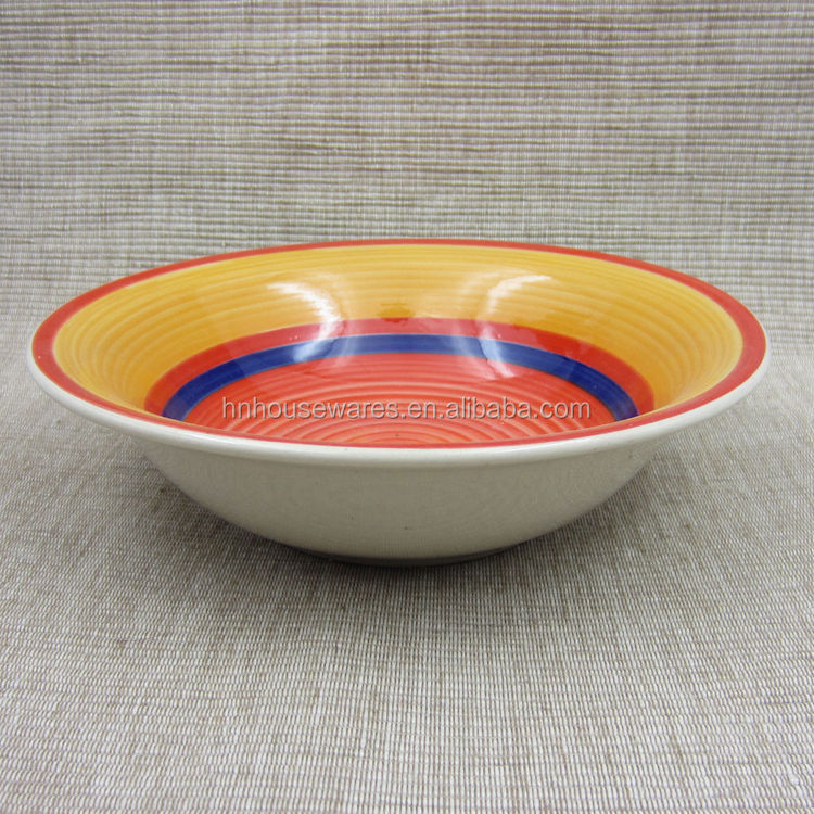 good sell hand painted ceramic soup bowl