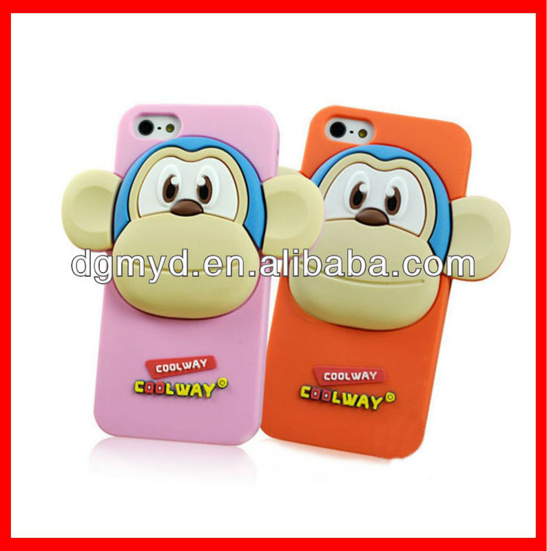 Cartoon 3D phone case silicone mobile phone casing