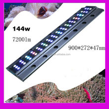 high power aquarium lighting CREE IP55 144w led coral reef aquarium lights