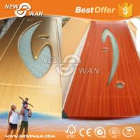 Modern Interior MDF Wooden Door / Bedroom PVC Door Price