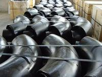 Seamless carbon steel 45/90/180 degree pipe elbows