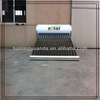 high quality integrated non-pressurized solar water heater