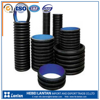 large diameter double wall hdpe pipe for drainage