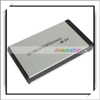 Low Price Hard Drive Case 3.5 Inch USB 2.0 SATA External HDD Enclosure
