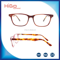 2016 Latest glasses frames for girls reputable Italy designer acetate optical frame new arrival in China