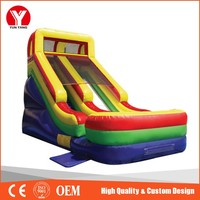 Cheap kids small indoor inflatable slide for sale