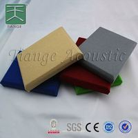fabric wall panel melamine acoustic foam