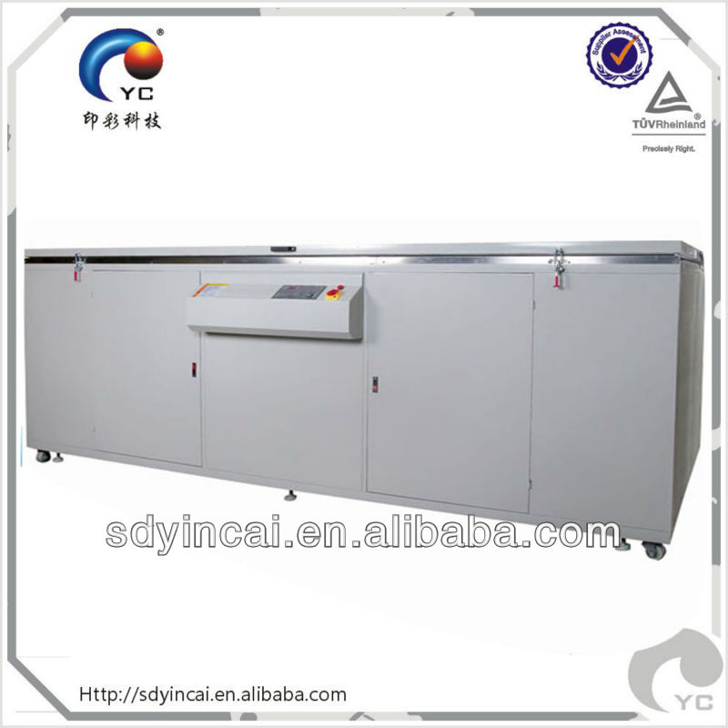 Chinese exposing unit with uv lamp for advertising industry