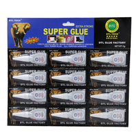 Best Selling 2g 2.5g 3g 4g 5g 502 Cyanoacrylate Adhesive Super Glue 12 Packs
