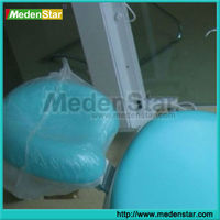 Hot sale plastic dental headrest cover disposable chair cover TZT01