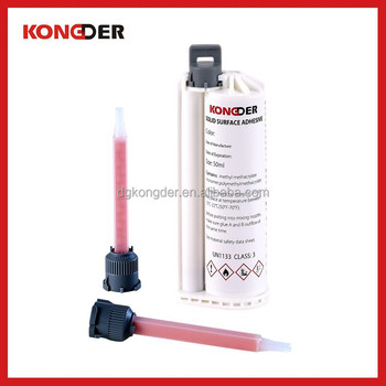 50ml Solid surface adhesive glue and dispensing gun