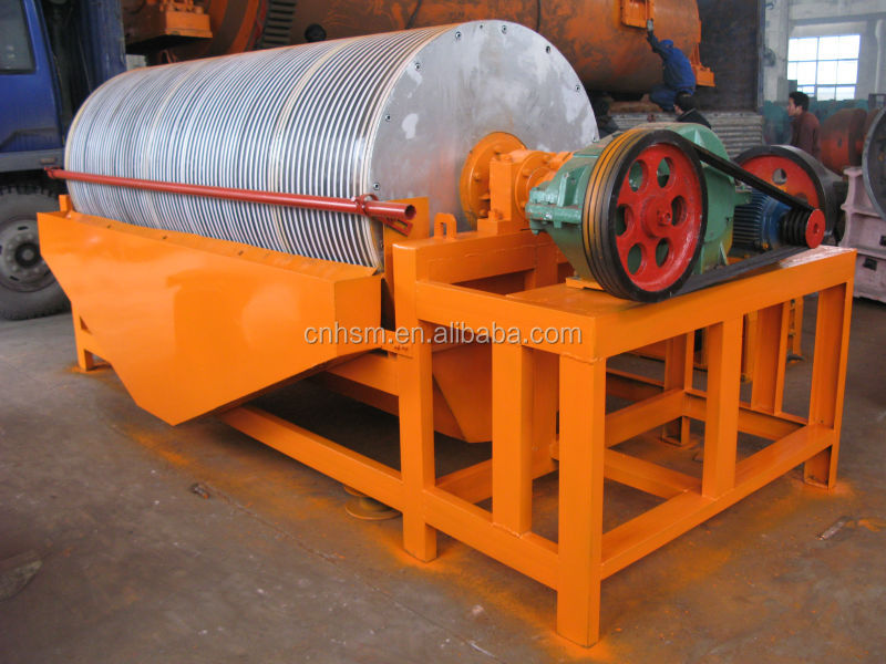 magnetic ore separator/ magnetic separator price / dry type magnetic separator for mineral separation process