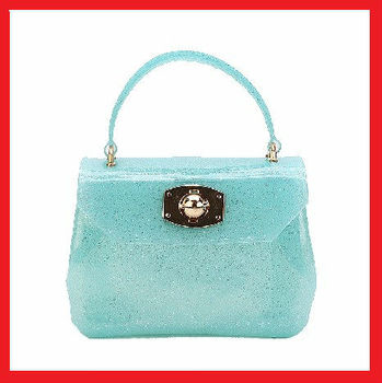 fashion mini silicone shoulder jelly bag
