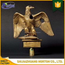 handmade antique design bronze wounded eagle sculpture indoor decoration NT-BS252Y