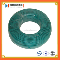 PVC insulated aluminum conductor BLV housing wire 4mm2 electric wire color code