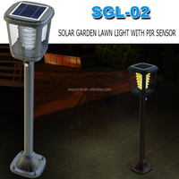 High Quality Stainless Solar Led Light Garden,Lawn Post Lamp