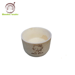 China factory wholesale home goods high quality handmade carved wooden fruit bowls
