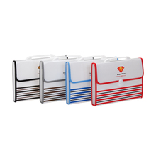 Advantage product expanding file, pp file folder with 13pockets,high quality office stationery