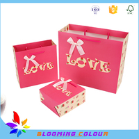 custom wedding used special paper bag , paper bag for packaging gift , wedding candy gift paper bag