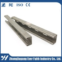 Mild Steel C Channel Slotted Channel Iron