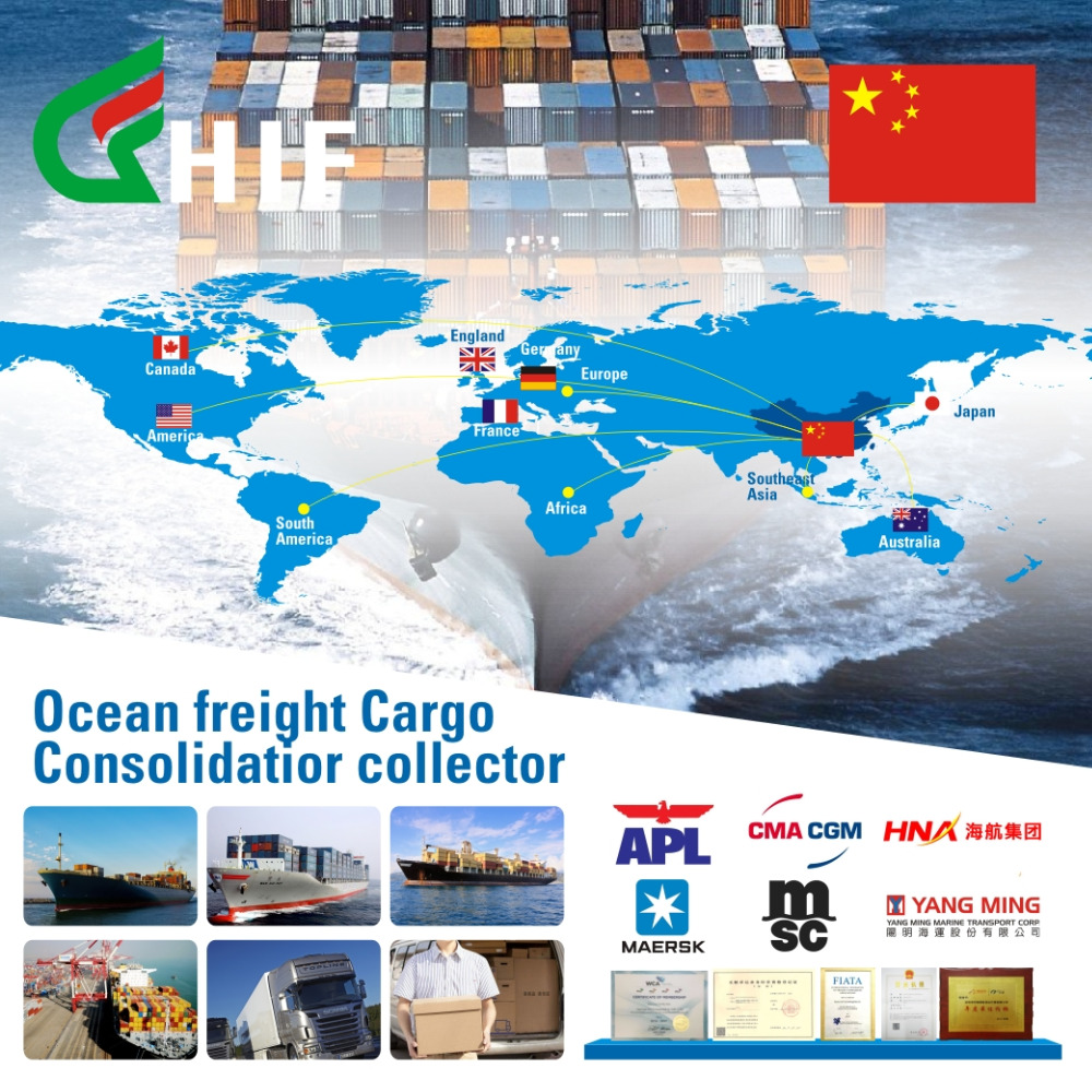 China Consolidated Shipping Agency Sea Freight