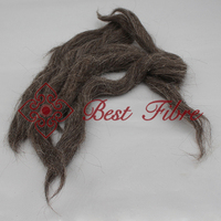 high quality fancy goat hair wool tops carded fancy wool