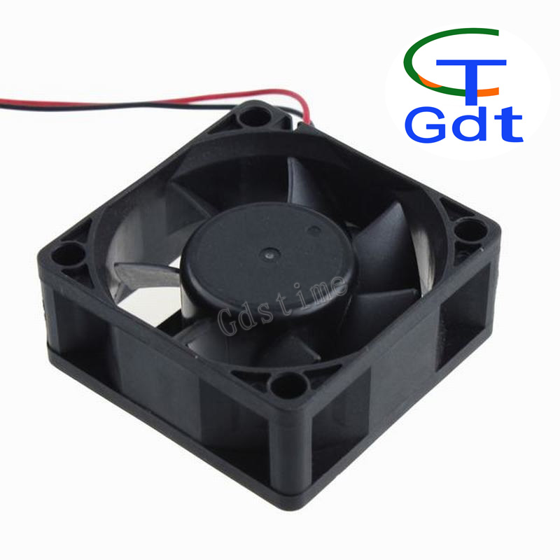 "60 x 60 x 25mm 6025 2.4"" 6cm CPU Computer DC 12V Fan For Cooling"