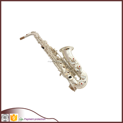 silver plated alto saxophone price woodwind musical instruments