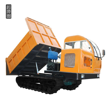 self-loading mini dumper tracked