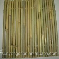 decorative natural eco-friendly terrace bamboo fence