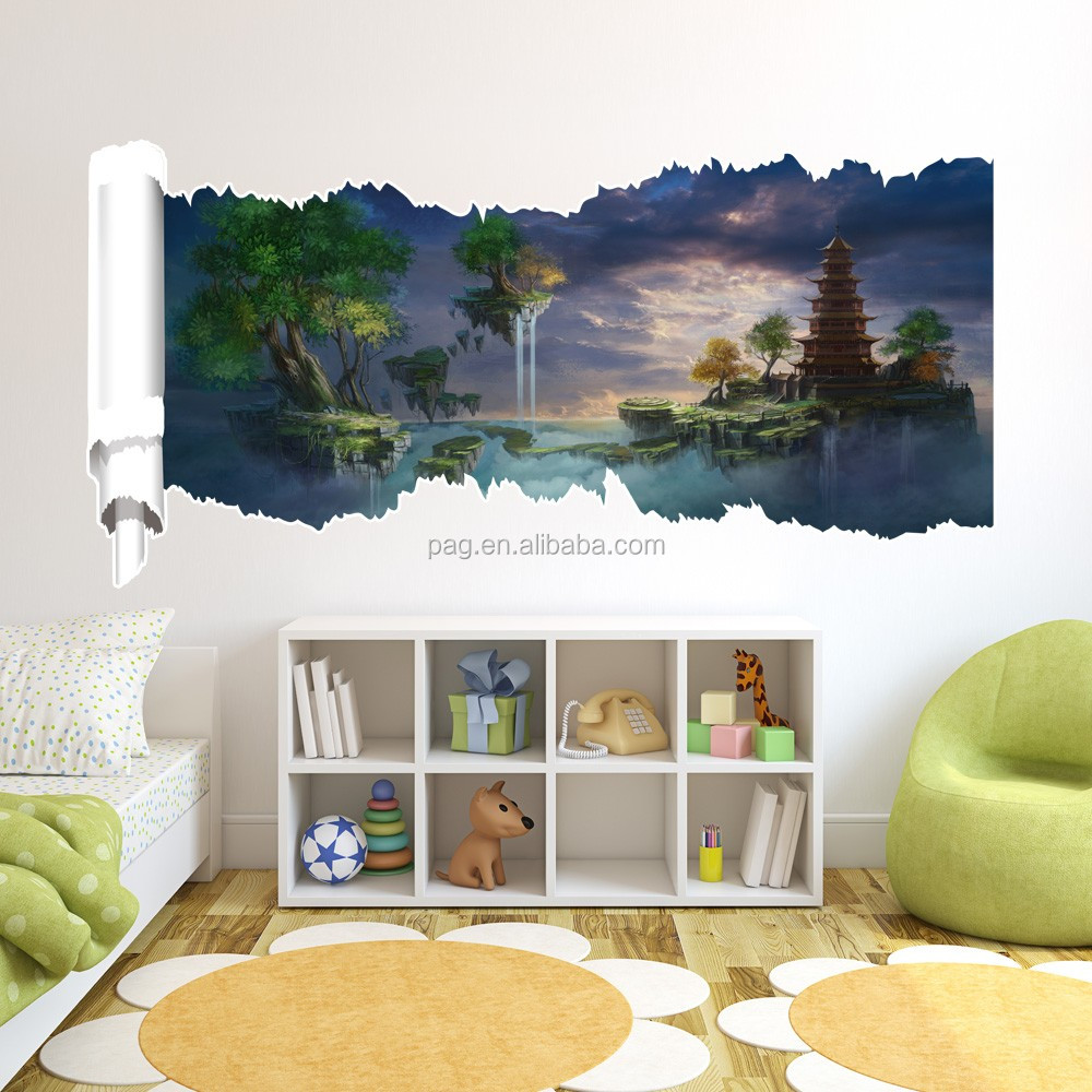 Custom design hot selling 3d wall sticker home decoration for Home selling design