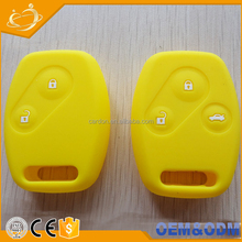 Upgraded Remote Car Key Shell Silicone Rubber Cover Holder for Honda Fit