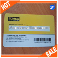 barcode key tag plastic card
