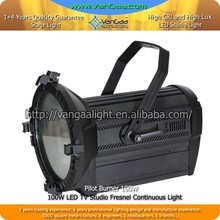 100W Studio LED Profile Spot Light 3200K-6500K Fresnel Continuous Studio Lighting