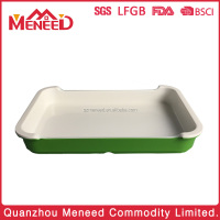 With FDA / BPA free Certification plastic fruit airline food trays/dishes and plates