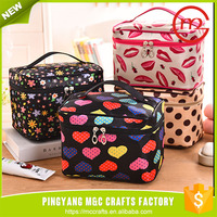 High quality top sell nylon oxford cosmetic bag