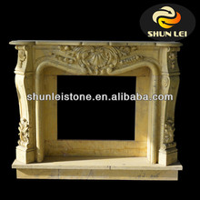 clay outdoor fireplace/decorative wooden fireplace/decorative fireplace