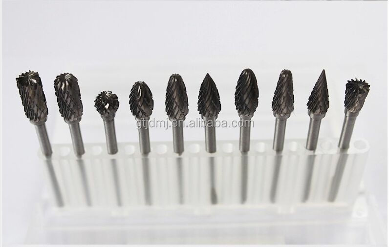 3mm Tungsten Carbide Rotary Burr Long Shank Cemented Carbide Burr burs