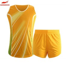 100% Polyester yellow Cheap Gym New Design Track Suit