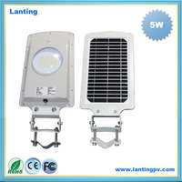 Outdoor High Lumen Integrated Motion Sensor Led Street Garden Solar Light