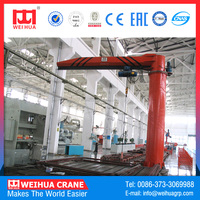 Best Selling 10Ton Portal Jib Crane Price With Electric Hoist For 15 T