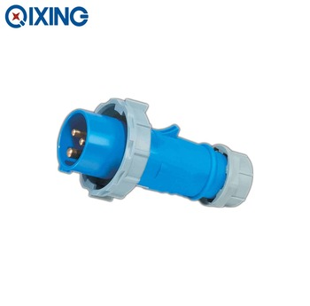 Qixing 3P+N+E explosion-proof plug and socket connector 32amp IP67