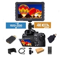 New Released Cheapest 7inch 4K Full HD Broadcast Monitor For Camcorder and Dslr