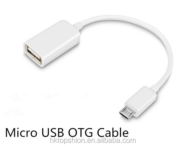 Mini Portable Micro USB OTG Cable, Micro USB OTG Adapter for Cellphone/Tablet/Game Player/MP3