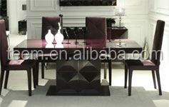 Divany Furniture dining room furniture dining table LS-218 design nepal wooden furniture
