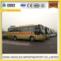 Manufacture discount shaolin brand bus 33 seats luxury city coach