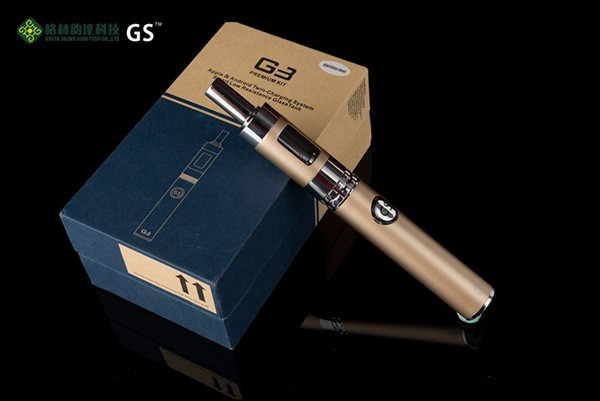 2015 Japan Electronic Cigarette G3 Huge Vapor Dual Charging With Long Lasting