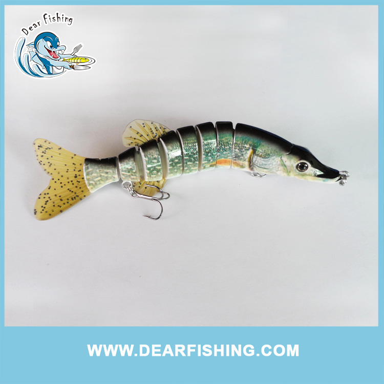 multi jointed fishing lures cheap pike lures swimbait fishing lures